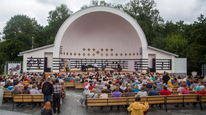 Звезды на Симфонической эстраде в парке Сокольники